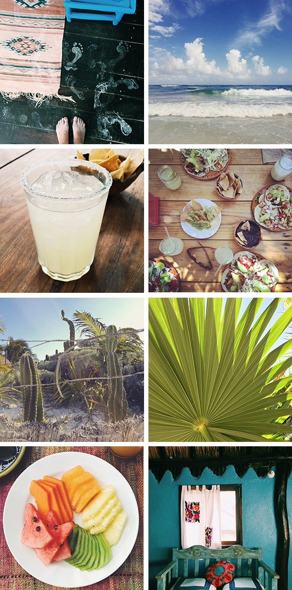 Tulum, Mexico, margarita, tacos, Hemingway, palms, tropical fruit, beach